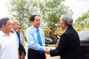 Chủ tịch Ủy ban Trung ương MTTQ Việt Nam làm việc với Tòa Giám mục Giáo phận Xuân Lộc (Đồng Nai)