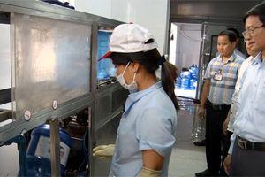 Kiểm tra an toàn thực phẩm trên địa bàn quận Long Biên