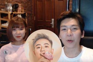 Vợ chồng Khởi My – Kelvin Khánh ủng hộ Thanh Duy theo cách cực 'lầy'