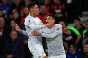 Manchester United chiến thắng nhẹ nhàng 2-0 trước Bournemouth