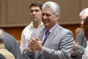 Ông Miguel Diaz-Canel Bermudez được đề cử vào vị trí Chủ tịch Hội đồng Nhà nước Cuba