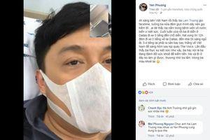 Chạy show liên tục, Lam Trường nhập viện vì kiệt sức