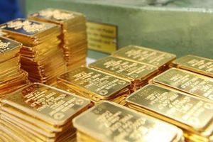 Giá vàng trong nước nhích nhẹ