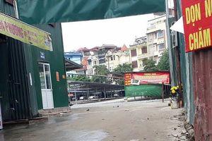 Quận Đống Đa (Hà Nội): Giải tỏa bãi xe không phép tại 24 Đặng Tiến Đông
