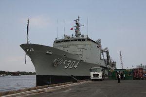 3 tàu Hoàng gia Úc thăm TP.HCM