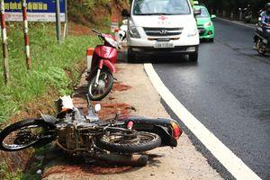 Tai nạn trên đèo Prenn khiến 2 người thương vong