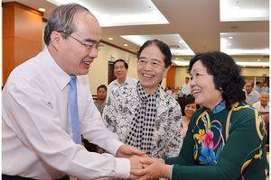 Họp mặt 50 năm Ngày thành lập Liên minh các Lực lượng Dân tộc, Dân chủ và Hòa bình Việt Nam