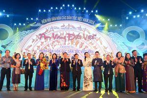 Rực rỡ đêm hội văn hóa đại đoàn kết dân tộc