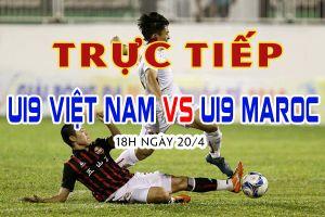 Trực tiếp U19 Việt Nam vs U19 Maroc, Suwon JS Cup 2018 18h ngày 20/4