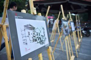 Hùng tráng hình ảnh kiến trúc Việt Nam 'xưa - nay'