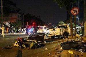 2 người thiệt mạng sau tai nạn kinh hoàng trên đường Nguyễn Hữu Cảnh