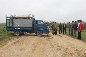 Quảng Ninh: Bắt quả tang 2 đối tượng xả chất thải ra môi trường