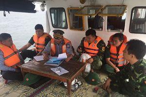 Quảng Bình: Bắt 2 tàu đánh cá tận diệt thủy sản trên biển