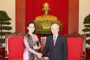 Việt Nam mở rộng quan hệ hữu nghị và hợp tác nhiều mặt với Myanmar