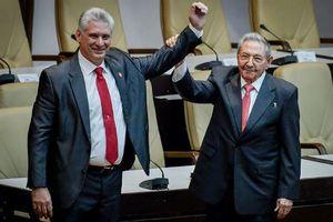 Lãnh đạo Việt Nam gửi điện mừng tân lãnh đạo Cuba