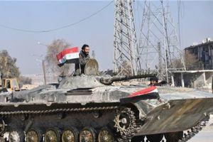 Khủng bố rút lui, quân đội Syria kiểm soát hoàn toàn Al-Dumayr