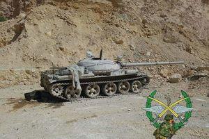 Bức hàng phe thánh chiến, quân đội Syria chiếm 37 xe tăng và 15 tên lửa đạn đạo
