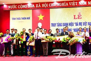 Thừa Thiên - Huế: Truy tặng 108 danh hiệu Bà mẹ Việt Nam Anh hùng