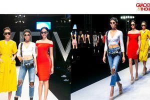 Ngắm Hoa hậu H'Hen Niê cùng hai Á hậu 'tái xuất' trên sân khấu thời trang.