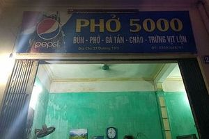 Ấm lòng bát phở 5000 ở Thành Nam