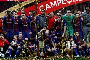 Đại thắng Sevilla, Barca giành Cup Nhà Vua Tây Ban Nha