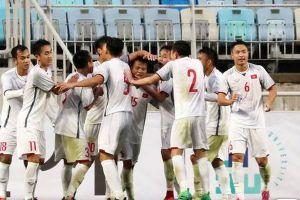 Hòa Hàn Quốc 1-1, U.19 Việt Nam cản đường chủ nhà vô địch Suwon JS Cup 2018