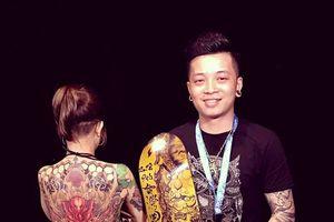 Nghệ sĩ Lâm Việt và những hình xăm hút mắt