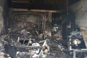 Cháy cửa hàng điện tử, 3 mẹ con tử vong thương tâm