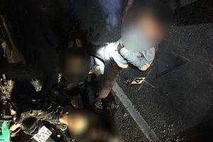 Xe máy chở 4 học sinh tông đuôi ô tô, cả 4 người đều tử vong