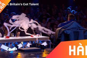 Thí sinh bắn giấy vệ sinh vào mặt giám khảo Got Talent Anh