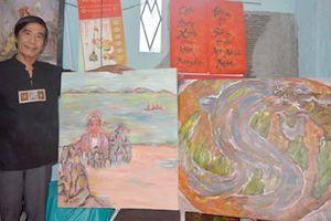 Triển lãm mỹ thuật 'Di sản văn hóa Ngũ Hành Sơn'