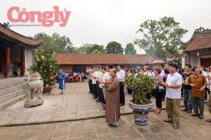 Dâng hương tưởng niệm Ngày giỗ Đức vua An Dương Vương