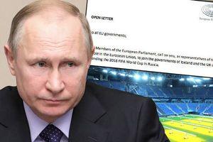 Nghị viện châu Âu kêu gọi tẩy chay World Cup 2018