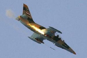 Không quân Syria trút bão lửa thiêu rụi các vị trí khủng bố ở Damascus