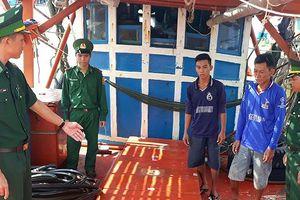 Xử phạt mua bán xăng dầu trên biển