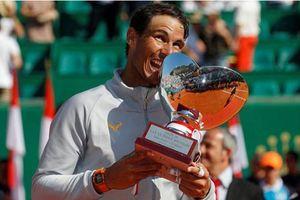 Nadal 'đè bẹp' Nishikori để lần thứ 11 đăng quang Monte Carlo