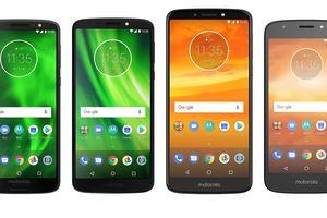 4 smartphone 'bình dân' Moto G6, G6 Play, E5 Plus và E5 Play có gì hay?