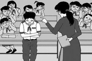 Thực hư thông tin cô giáo bắt học sinh ngậm dép vì mải đùa nghịch trong giờ học
