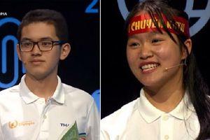 Màn đấu gay cấn giữa kỷ lục gia Olympia và nữ sinh Hà Nội khiến khán giả phải tâm phục khẩu phục