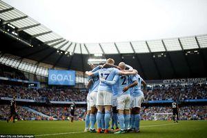 Man City kỷ niệm chức vô địch Premier League bằng chiến thắng hủy diệt Swansea