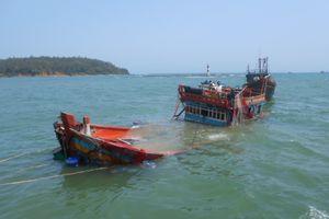 Hội nghề cá Quảng Ngãi phản đối hành động vô nhân đạo của tàu Trung Quốc
