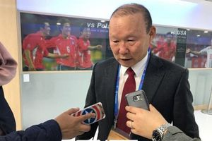 HLV Park Hang Seo: 'U19 Việt Nam chỉ mạnh về tinh thần, chưa thể bằng U23'