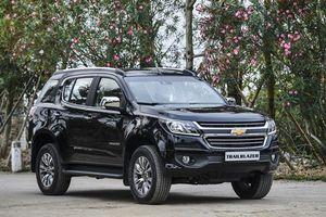 Mẫu thực tế Chevrolet Trailblazer 2018 sắp ra mắt thị trường Việt