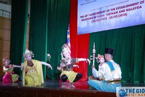 Giao lưu nghệ thuật kỷ niệm 45 năm quan hệ ngoại giao Việt Nam - Malaysia