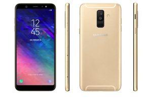 Samsung Galaxy A6+ lộ dáng: màn hình viền mỏng, camera kép