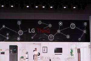 LG trình diễn loạt sản phẩm cao cấp công nghệ AI