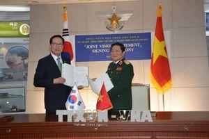 Việt Nam - Hàn Quốc ký Tuyên bố tầm nhìn chung về hợp tác quốc phòng