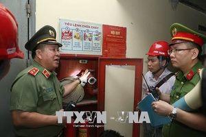 Phát hiện nhiều chung cư Hà Nội vi phạm PCCC khi kiểm tra đột xuất