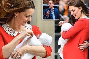 Công nương Kate Middleton rạng ngời chỉ sau 7 tiếng sinh con
