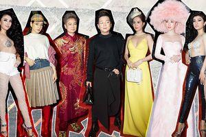 Loạt trang phục 'quái chiêu' khiến sao Việt dù nhan sắc mặn mà đến mấy vẫn chẳng thể đẹp nổi tại VIFW 2018